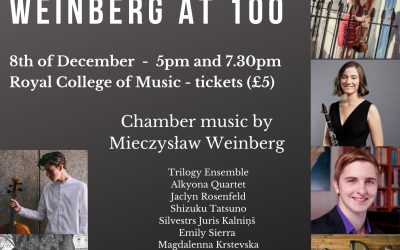 Weinberg at 100 concertdag